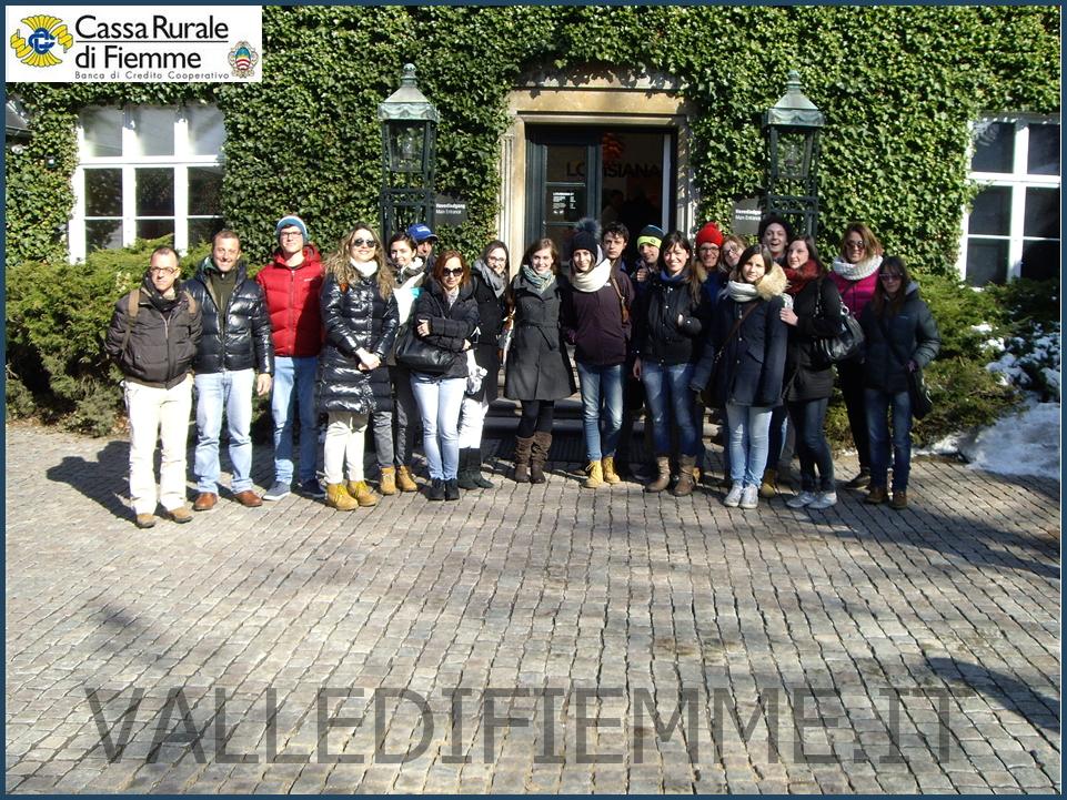 copenaghen 1 cassa rurale valle di fiemme Copenhagen 2013 viaggio premio per neodiplomati e neolaureati di Fiemme