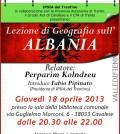 lezione geografica albania cavalese fiemme