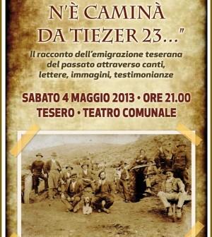 locandina coro genzianella tesero donca del 23