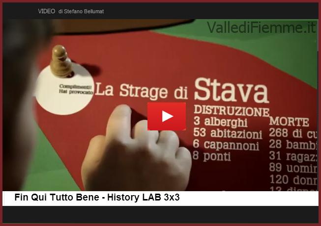 tragedia di stava fin qui tutto bene valle di fiemme Fin Qui Tutto Bene   La strage di Stava in 3 minuti  Video per History LAB 3x3