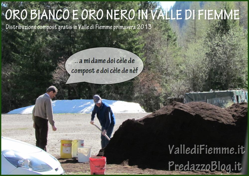 vignetta compost gratis fiemme Distribuzione compost ai cittadini di Predazzo