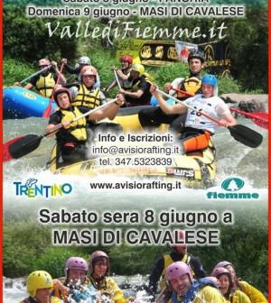campionati italiani rafting avisio fiemme