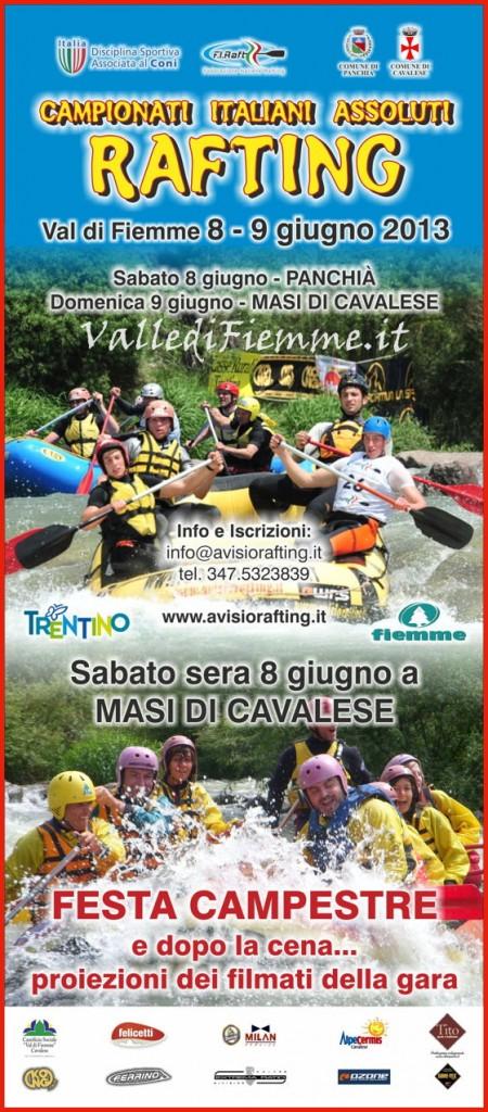 campionati italiani rafting avisio fiemme 450x1024 Campionati Italiani Assoluti di Rafting R4 in Valle di Fiemme
