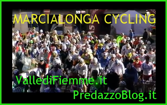 marcialonga cycling fiemme predazzo Marcialonga Cycling Craft al via in Valle di Fiemme con catene da neve