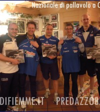 nazionale pallavolo a cavalese