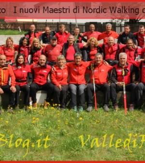 nuovi maestri nordic walking scuola italiana fiemme