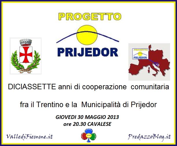 progetto prijedor cavalese trentino fiemme Progetto Prijedor  17 anni di cooperazione comunitaria