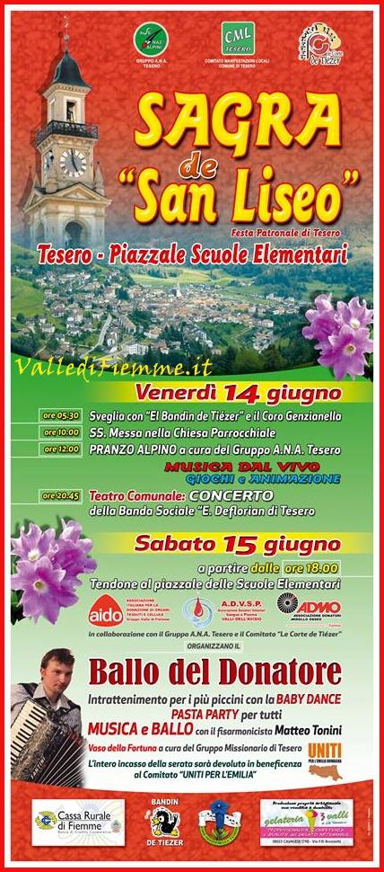 sagra de san liseo tesero fiemme Tesero, la Sagra de San Liseo 2013