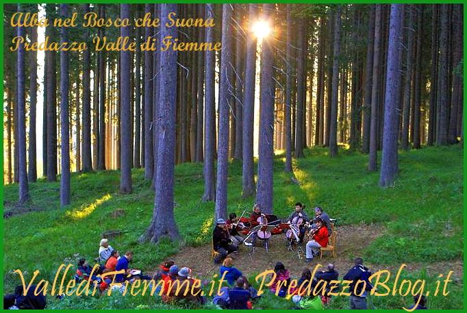 alba bosco che suona predazzo fiemme suoni delle dolomiti Suoni delle Dolomiti 2014 il programma della 20°edizione