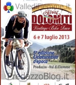 dolomiti vintage bike race fiemme predazzo 2013