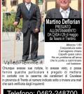 martino deflorian cavalese scomparso fiemme