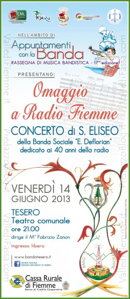 omaggio a radio fiemme tesero 446x1024 Omaggio a Radio Fiemme al Concerto di S.Liseo