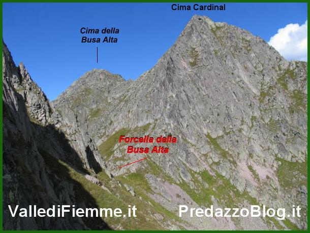 cima cardinal lagorai busa alta fiemme Lagorai, muore sul Cardinal alpinista di La Spezia, Roberto Melini