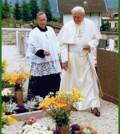 giovanni paolo II a tesero vittime stava fiemme