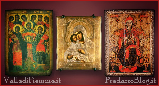 mostra icone sacre cavalese romania fiemme Cavalese, mostra e laboratorio di iconografia di Scuola Romena