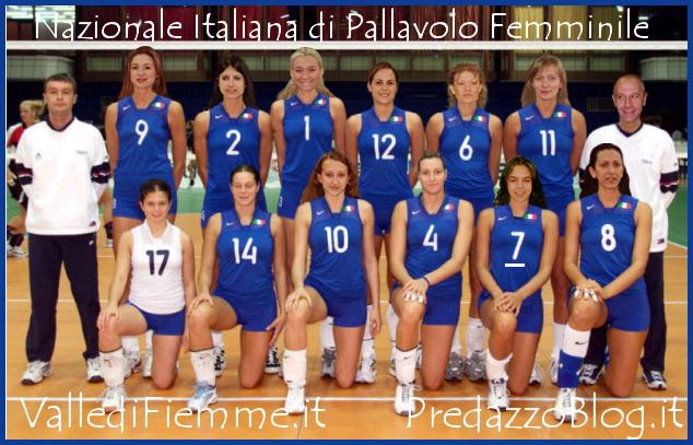 nazionale pallavolo femminile a cavalese 1 La Nazionale Femminile del Volley a Cavalese