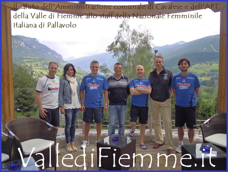 nazionale pallavolo femminile a cavalese 2 La Nazionale Femminile di Pallavolo è in Valle di Fiemme