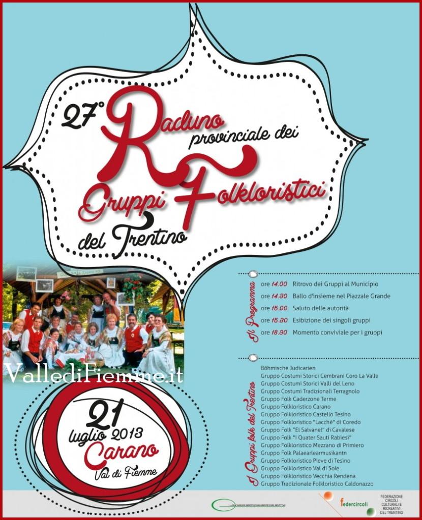 raduno provinciale gruppi folkloristici del trentino carano fiemme 2013 830x1024 Fiemme   Carano  27° Raduno Provinciale dei Gruppi Folk del Trentino