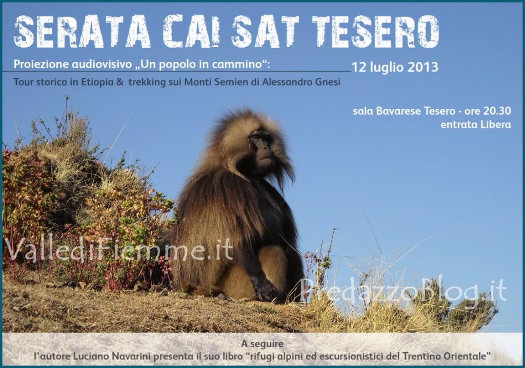 serata cai sat tesero fiemme 1024x719 Rifugi alpini del Trentino Orientale, serata con la SAT di Tesero