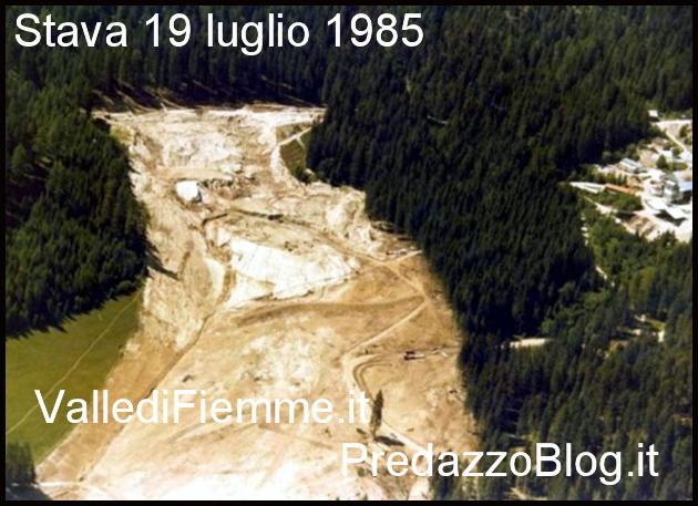 stava 19 luglio 1985 30° anniversario della catastrofe di Stava