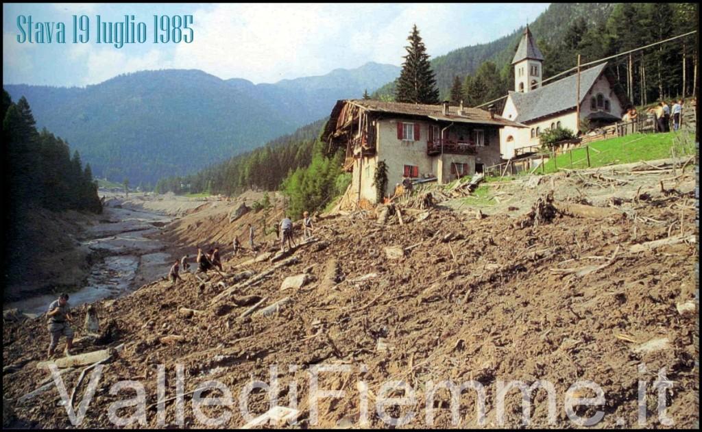 stava 19 luglio 19851 1024x631 30° anniversario della catastrofe di Stava