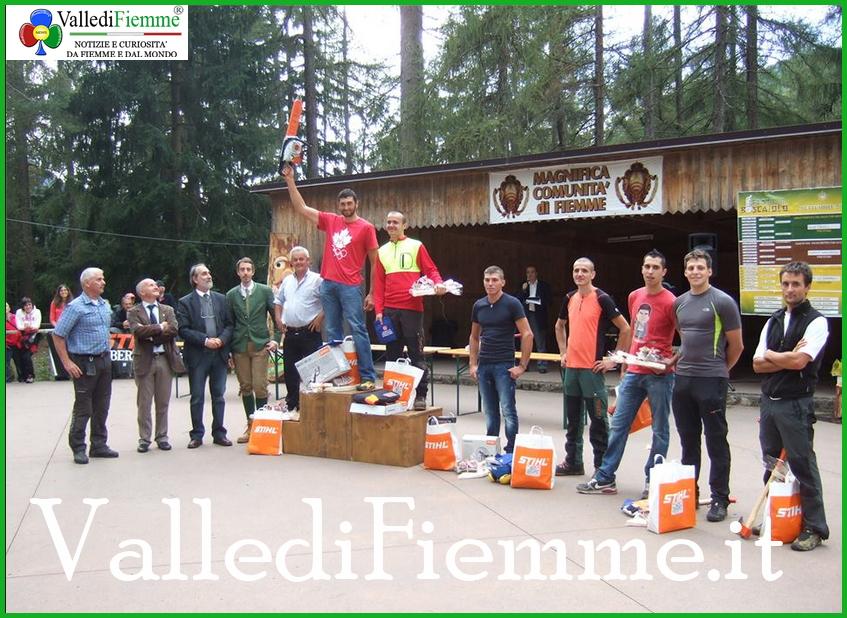 boscaioli fiemme Castello Molina di Fiemme, una nazionale per la FESTA DEL BOSCAIOLO
