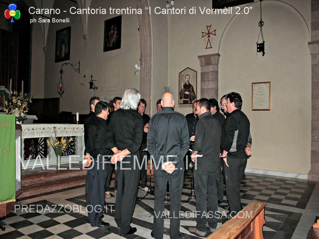 "carano corale Cantoria trentina ""I Cantori di Vermèil 2.0″2 Cantoria trentina I Cantori di Vermèil 2.0: magie vocali a Carano"
