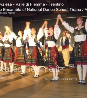 cavalese The Ensamble of National Dance School Tirana Albania fiemme 20132