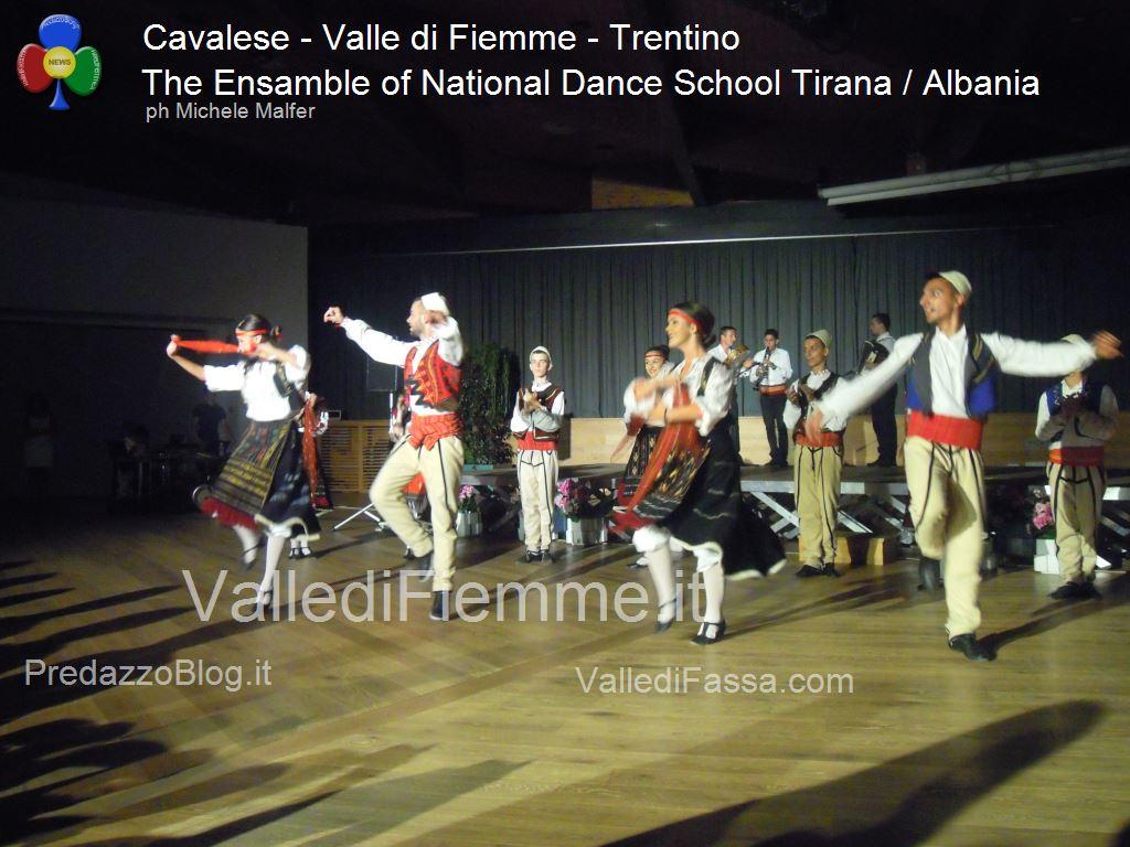 cavalese The Ensamble of National Dance School Tirana Albania fiemme 20134 Cavalese, successo per la Scuola di Danza di Tirana / Albania