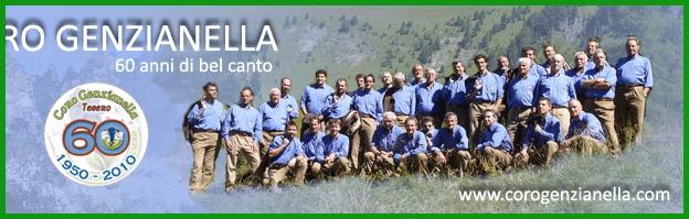 coro genzianella tesero Tesero, 25° rassegna canti di montagna