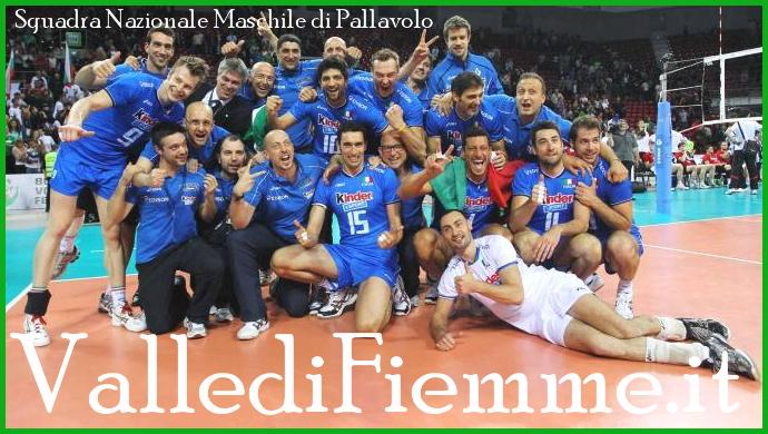 nazionale maschile pallavolo valle di fiemme La Nazionale Maschile di Pallavolo ritorna a Cavalese
