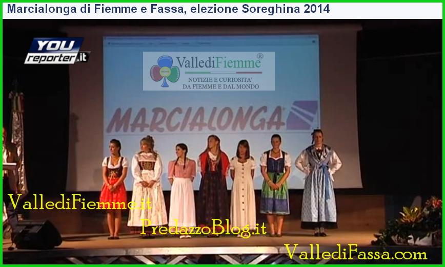 soreghina 2014 candidate fiemme fassa Fiemme e Fassa, Valentina è la nuova Soreghina