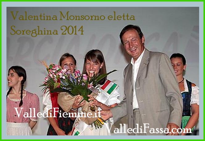 soreghina 2014 marcialonga valentina monsorno fiemme Fiemme e Fassa, Valentina è la nuova Soreghina