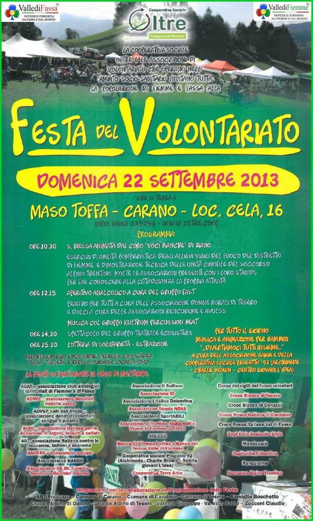 festa del volontariato fiemme fassa 2013 615x1024 Festa del Volontariato di Fiemme e Fassa   Le Foto