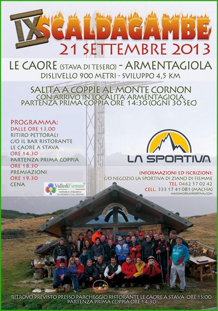 scaldagambe 2013 tesero 719x1024 Tesero, Vertical Trophy domani la Scaldagambe n°9