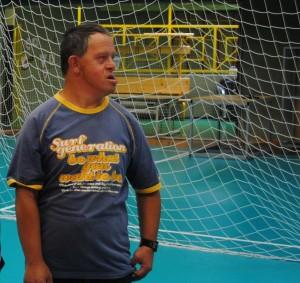 PAOLO Anffas e nazionale volley 2 300x283 I nostri primi 40 anni all'ANFFAS di Cavalese   Incontro con i 7 saggi