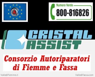 Cristal Assist Consorzio Autoriparatori Fiemme Fassa