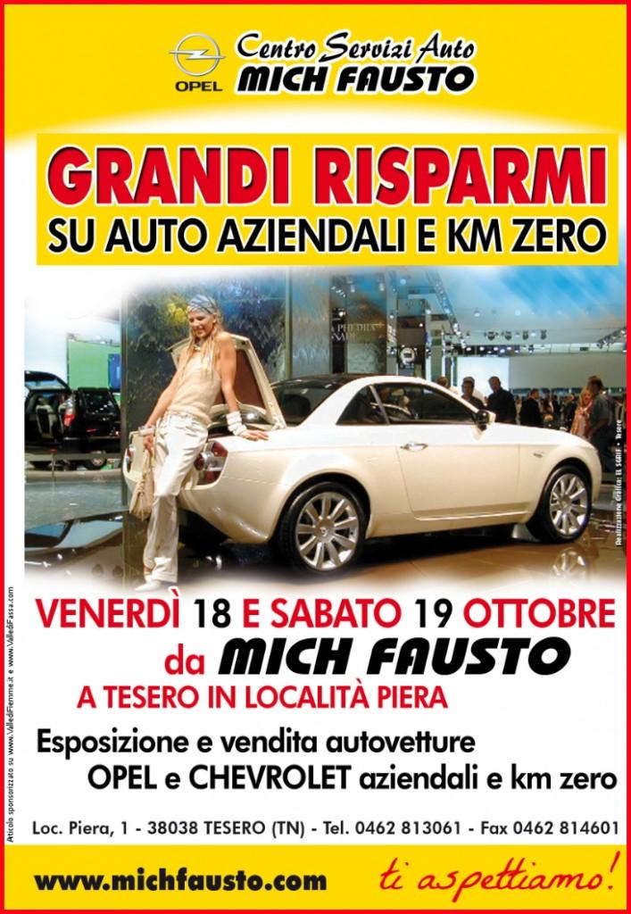 centro servizi auto mich fausto tesero fiemme 707x1024 Esposizione di auto aziendali e km zero da Mich Fausto a Tesero