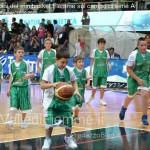 fiemme mini basket con aquila trento3 150x150 I bambini del minibasket Fiemme sul campo di serie A con lAquila Trento