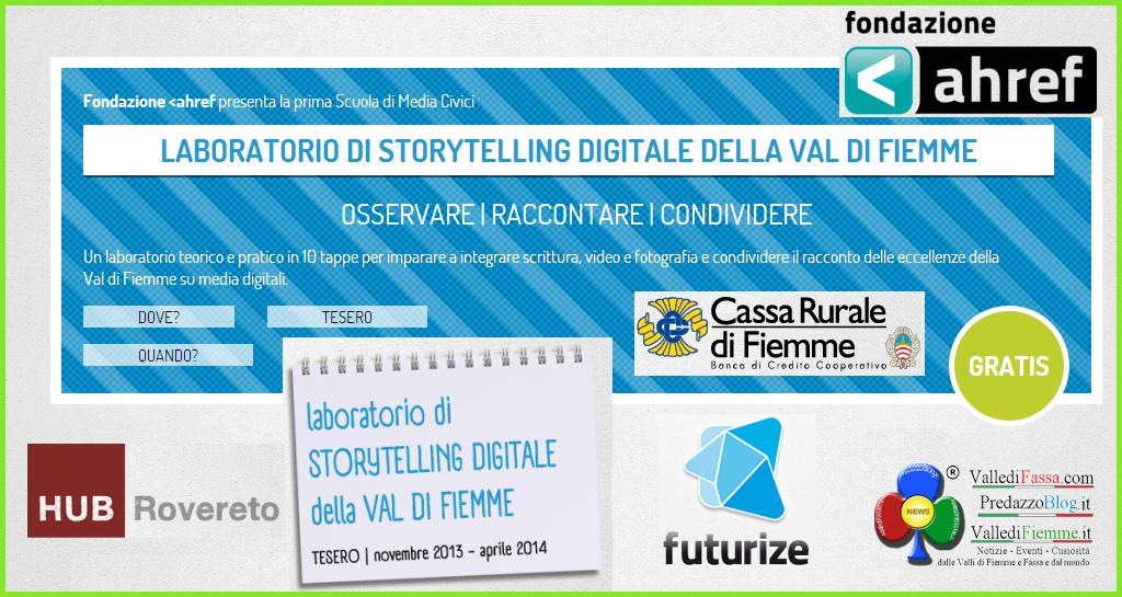 laboratorio storytelling cassa rurale fiemme 1 Futurize » Laboratorio di Storytelling digitale della Valle di Fiemme