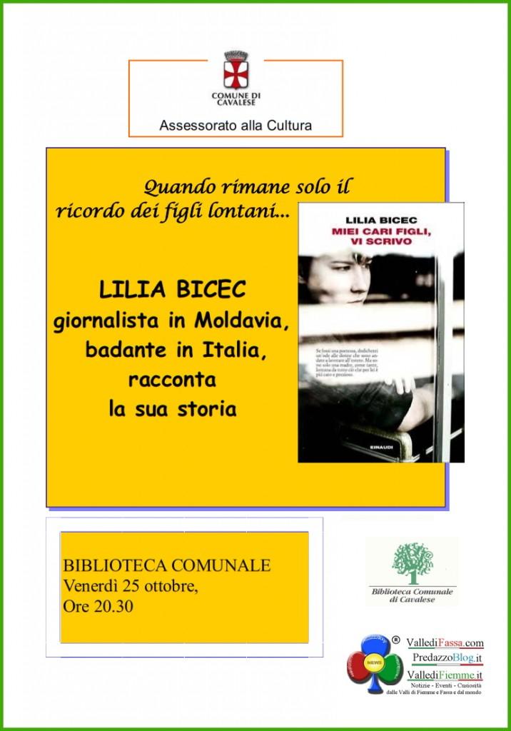 lilia bicec fiemme 716x1024 Cavalese, Miei cari figli, vi scrivo   di Lilia Bicec