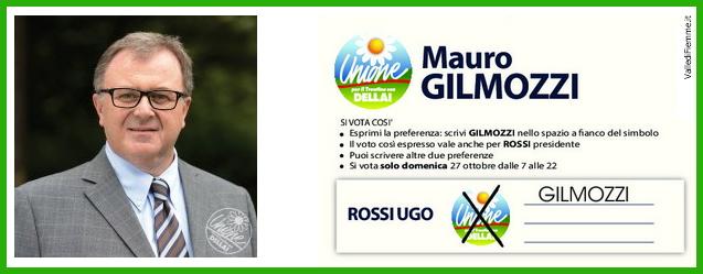 mauro gilmozzi candidato upt fiemme Mauro Gilmozzi, Piero De Godenz e Lorenzo Dellai questa sera al Palafiemme di Cavalese