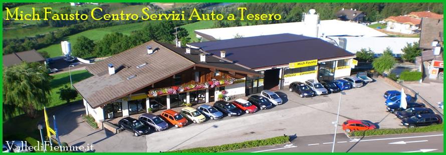 mich fausto tesero officina carrozzeria fiemme Esposizione di auto aziendali e km zero da Mich Fausto a Tesero