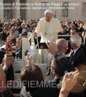 vigili del fuoco fiemme a roma da papa francesco ph sara bonelli valledifiemme.it20