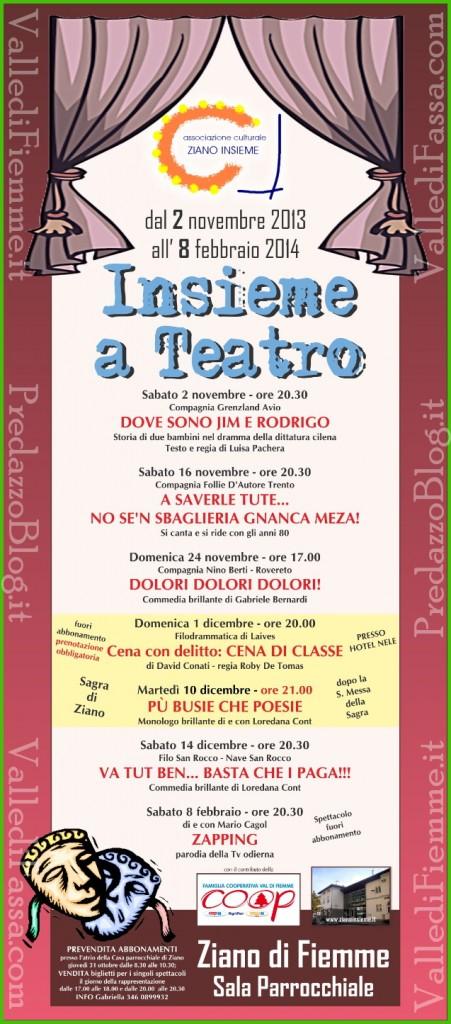 ziano fiemme teatro 2013 2014 451x1024 Ziano di Fiemme, Insieme a Teatro 2013   2014