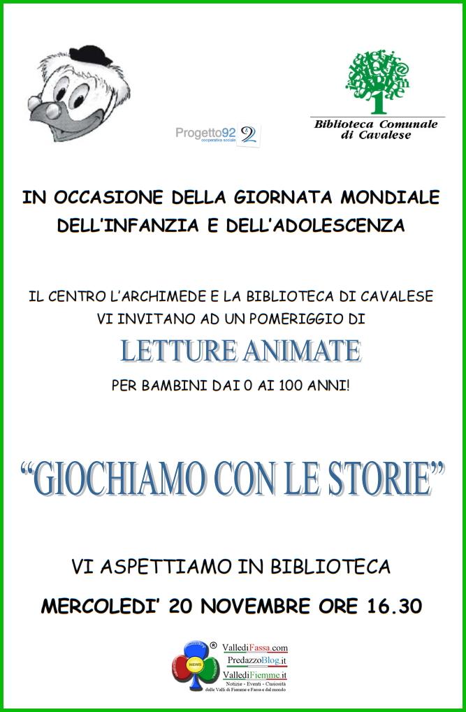 biblioteca cavalese fiemme locandina2 4 Appuntamenti organizzati dalla Biblioteca di Cavalese