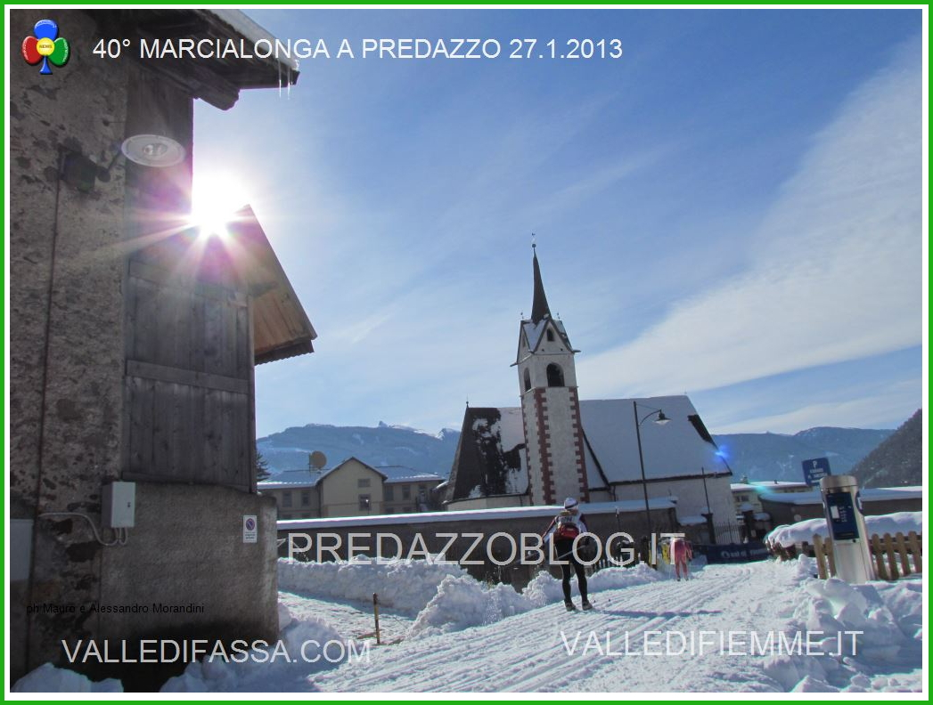 marcialonga fiemme fassa a predazzo Fiemme, pista della Marcialonga aperta tutto linverno