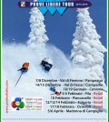 prove libere ski tour pampeago fiemme 2013