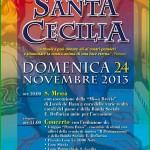 santa cecilia tesero fiemme 150x150 Tesero, Concerto di Natale con il Coro Genzianella e Corale di Taio