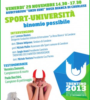 universiadi incontro a cavalese